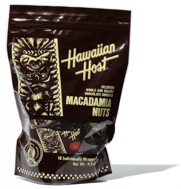 HAWAIIAN HOSTのチョコレート