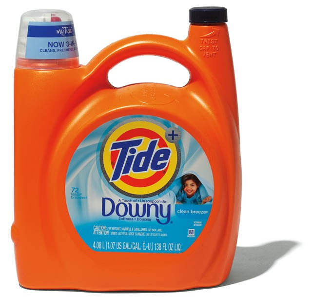 "P&Gの洗剤""Tide with Downy"""