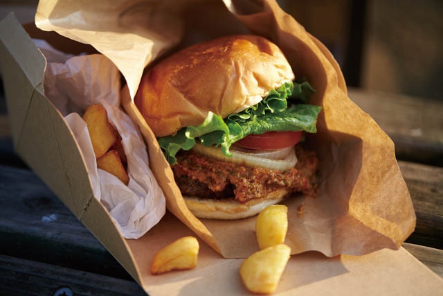 burger house UZUの 『マンスリーバーガー』