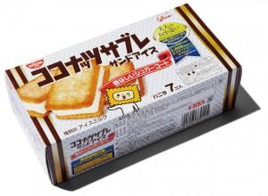 BRAND  江崎グリコ ITEM  ココナッツサブレ  サンドアイス