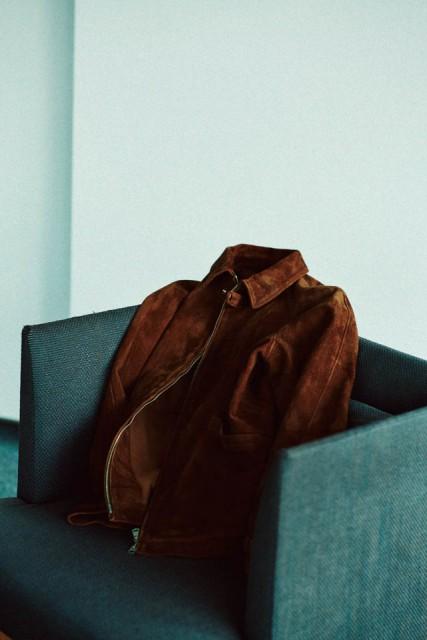 PHIGVEL suede jacket