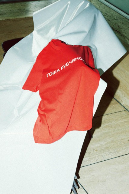 GOSHA RUBCHINSKIY t shirt