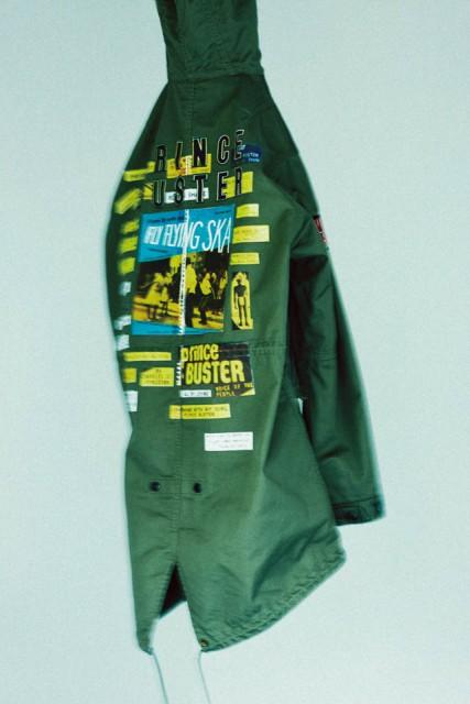 WACKO MARIA×PRINCE BUSTER mods coat
