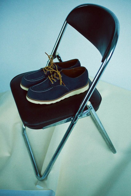 RED WING×BEAMS work oxforad boots