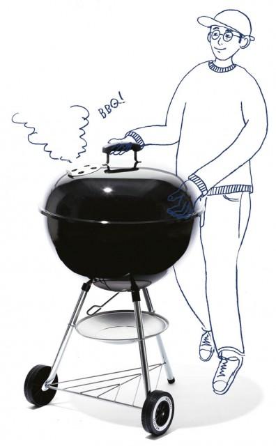 BRAND  WEBER ITEM  BBQ Grill