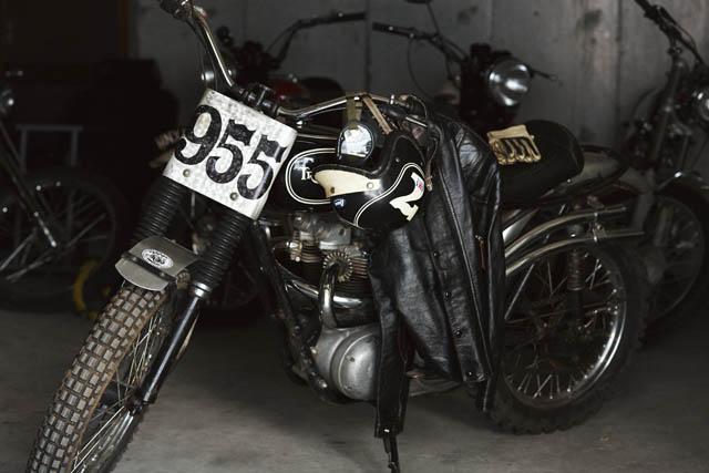 岡本博愛用のバイク