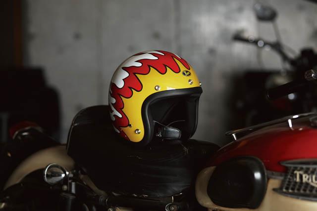 岡本博愛用のヘルメット