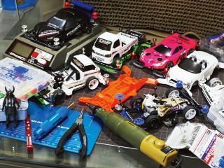 クリエイターたちの意外な趣味と、その愛用品 My Hobby&My Gear -MINI 4WD-