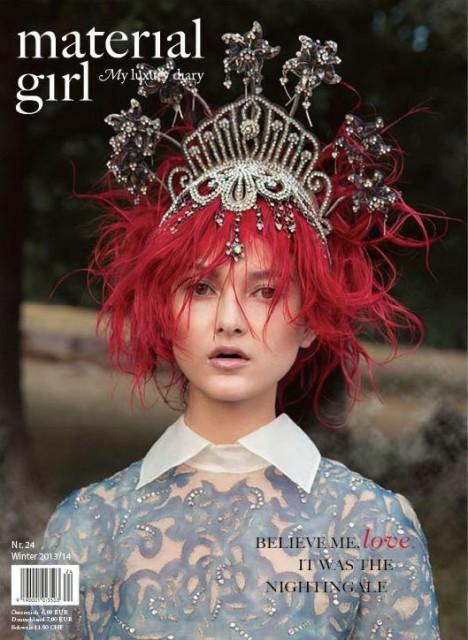 magazine  material girl magazine