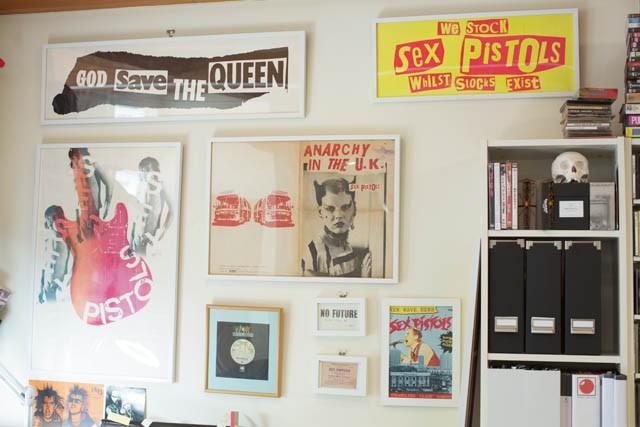 ITEM  SEX PISTOLSの ポスター&レコード