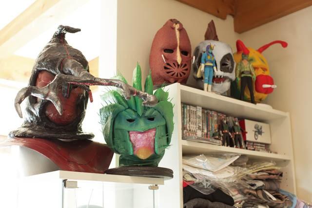 ITEM  仮面ライダーの怪人マスク