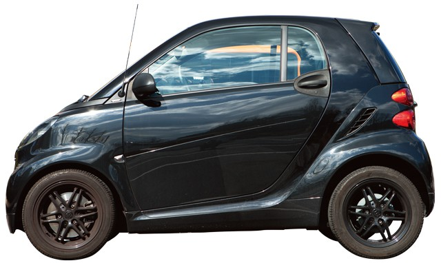 SIDE.smart fortwo black edition coupe mhd