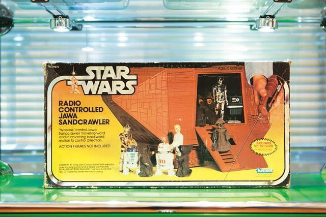 STAR WARS  RADIO CONTROLLED  JAWA SANDCRAWLER  1979