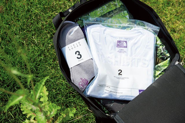 THE NORTH FACE PURPLE LABEL COOLMAX® Pack Sox,COOLMAX® Pack Tee
