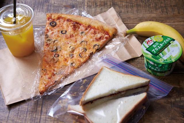 ITEM  PIZZA SLICEのピザ