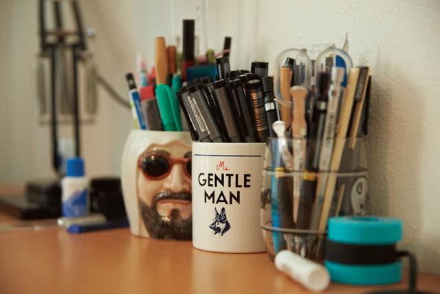 マンガを描くのに 欠かせないペン類
