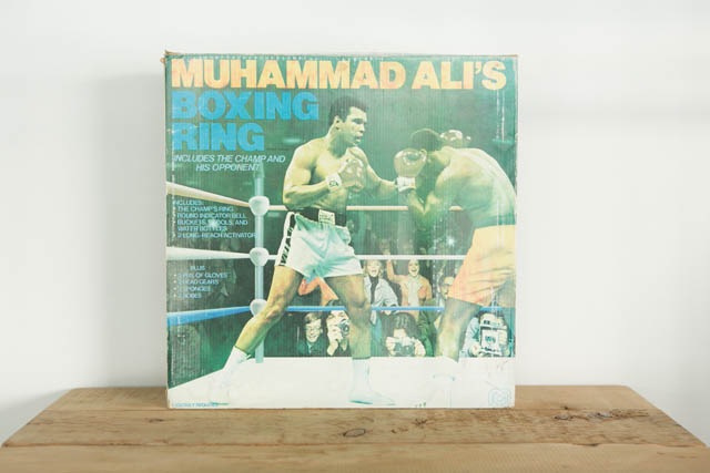 DENYS FISHER / MEGO  MUHAMMAD ALI 10inc ACTION FIGURE PRICE ¥20,000