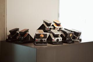 愛らしいヴィンテージポラカメラたち。