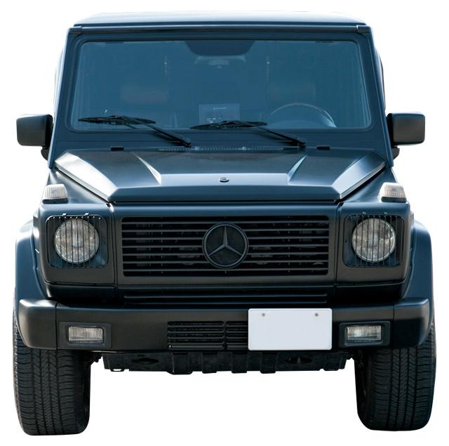 Mercedes Benz G500 FRONT.