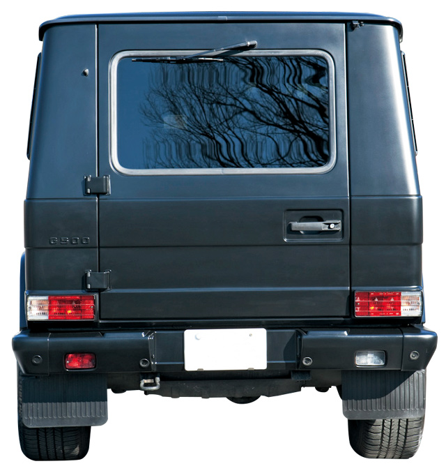 Mercedes Benz G500 REAR.