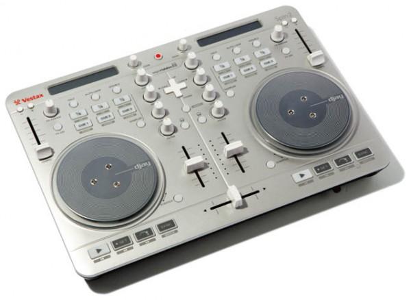 VestaxのDJコントローラー