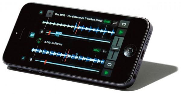 "iPhoneアプリ""TRAKTOR DJ"""