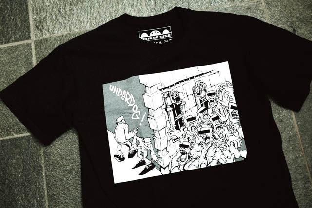 UNDERDOG Tシャツ