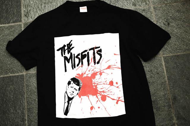 Supreme×MISFITS Tシャツ