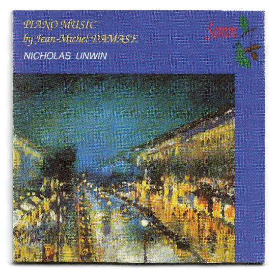ARTIST NICHOLAS UNWIN TITLE PIANO MUSIC by Jean Michel DAMASE