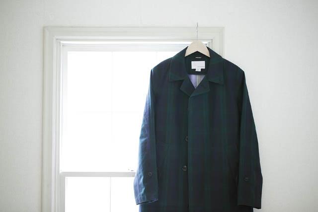 nanamicaの ステンカラーコート