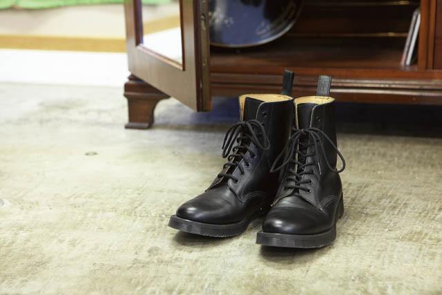 JEAN DIADEM× GORGE COXのブーツ