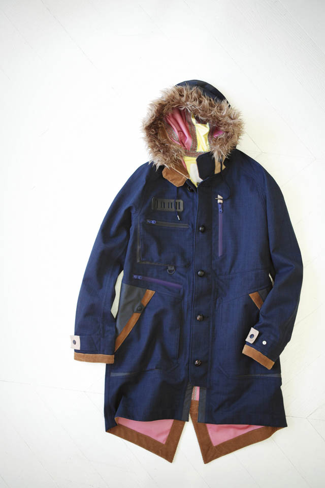 White Mountaineering のコート