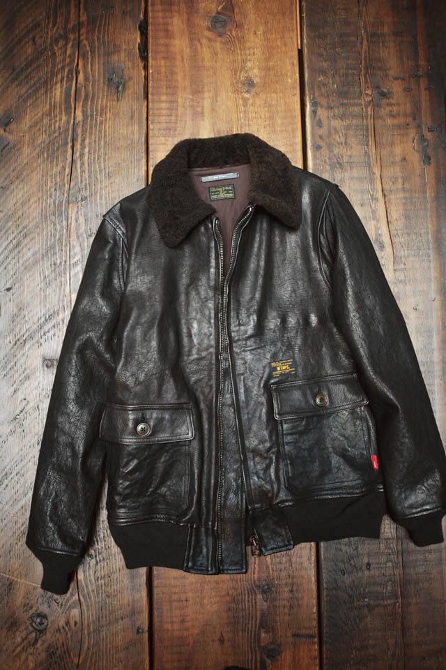WTAPS/G 1 LEATHER JACKET