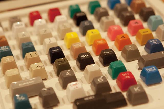 '70sのキーボードのセールスマンサンプル