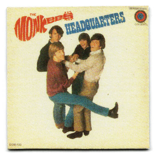 ARTIST  THE MONKEES TITLE  HEADQUARTERS