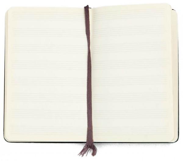 MOLESKINの 五線譜ノート