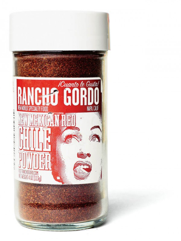 RANCHO GORDO    NEW MEXICAN  RED CHILE POWDER