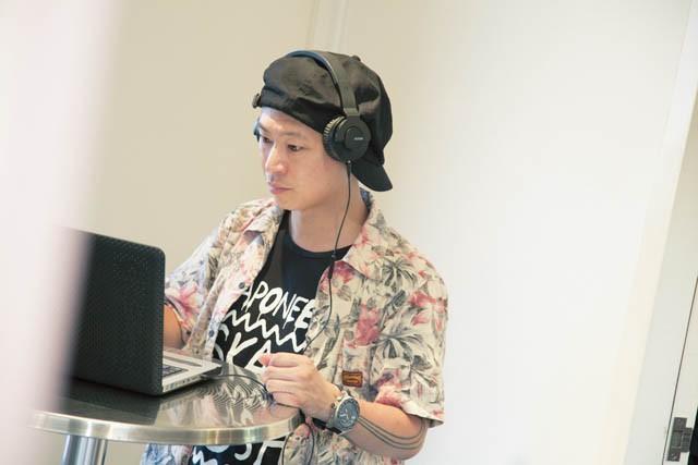 DJ BAKU氏