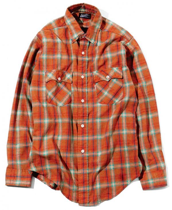 '80sのLevi'sのシャツ