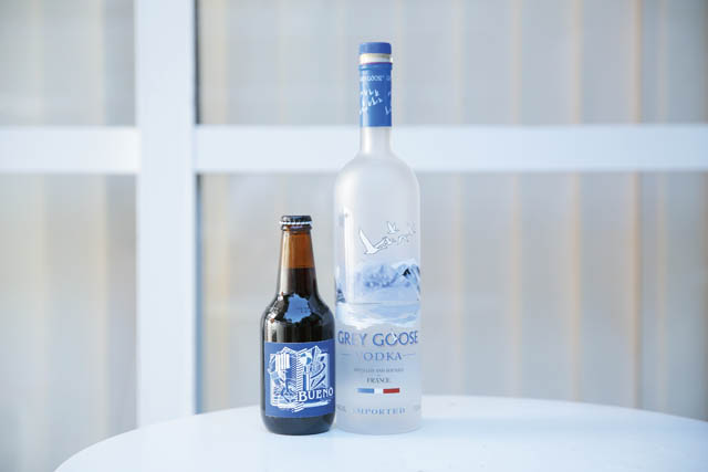 GREY GOOSE VODKA ORIGINAL BEER