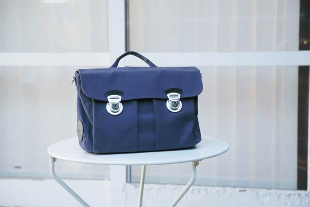 HORDEN新作のサッチェルバッグ(¥31,500)