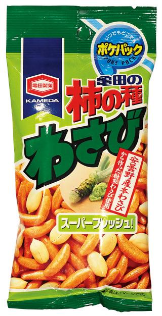 亀田製菓   亀田の柿の種 わさび