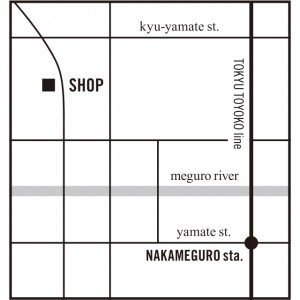 nakameguro map
