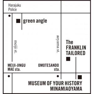 harajuku, aoyama map