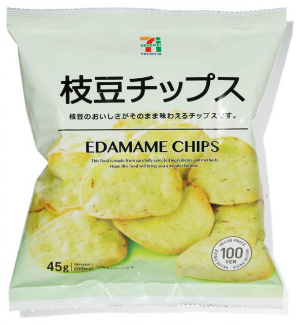 MANUFACTURER セブンイレブン セブンプレミアム 枝豆チップス