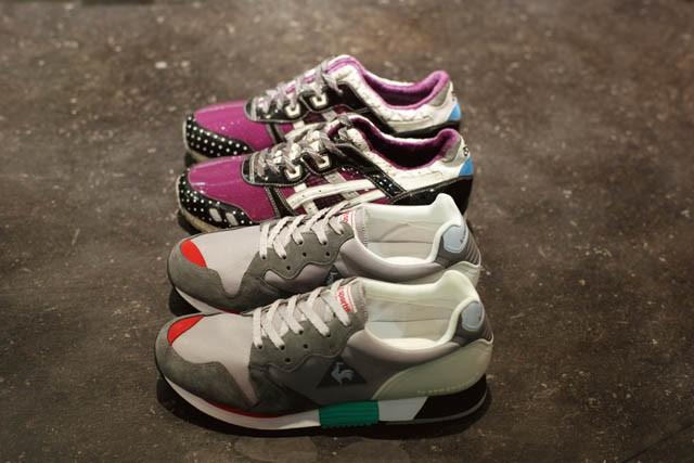欧米市場を賑わせるクラシックランニングが来年のダークフォース、配色美にポテンシャルを秘める1987年の名機le coq sportif EUREKA、来年以降の日本再展開が期待されるαGEL搭載機asics GEL LYTE 3 mita sneakers別注