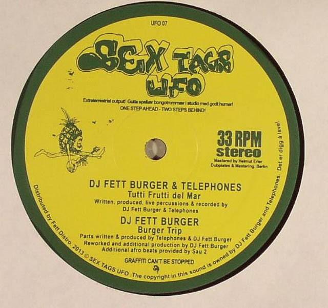 ARTIST DJ FETT BURGER &TELEPHONES TITLE Rytmenarkotisk