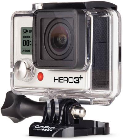 BRAND GoPro    ITEM GoPro HERO3+シルバーエディション