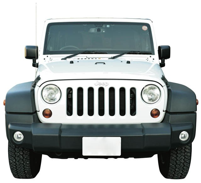 Jeep Wrangler Unlimited 2012 フロント