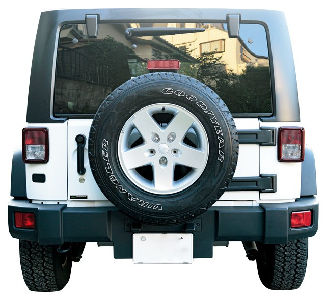 Jeep Wrangler Unlimited 2012 バック
